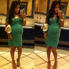 T shirt dress and heels 36 1/2 weeks :)  #angelicaprado