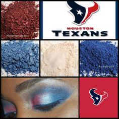 Look your best and show your support for the Houston Texans on game day with these Younique pigments and 3D Fiber Lash! https://www.youniqueproducts.com/divathome/products/view/US-21000-00#.VRLOf_nF8eo