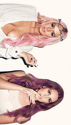 Lana del Rey & Lindsey Lohan // their hair