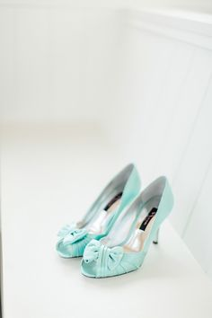 aqua heels | Brooke Images #wedding