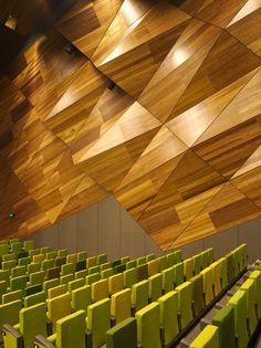 Melbourne Convention Center amphitheater interior