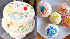 mollymoo.ie - doodle cake