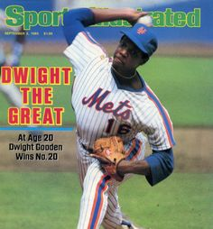 Philip Kossoy...Here Dwight Gooden is pictured on the cover of Sports Illustrated after becoming the youngest pitcher to win 20 games.  Philip Kossoy  http://philipkossoy1986mets.weebly.com/