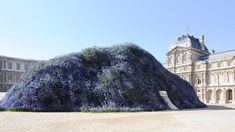 Dior's Grand, Flower-Covered Mountain of a Set, by the Numbers - The New York Times