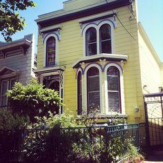 Colors. San Francisco Houses