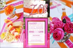 baby shower for a girl.