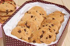 El pato de chocolate: Cookies con chips de chocolate