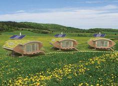 zero carbon off grid houses