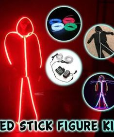 LED Stick Figure Kit - Not sold in stores