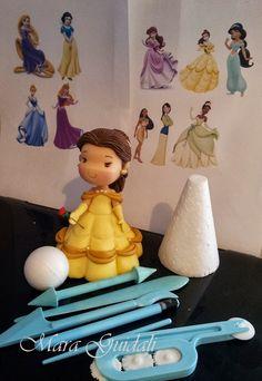 Preparem suas ferramentas BLUESTARNET do Grupbluestarnet Artesanato E Confeitaria que darei curso de todas as princesas estilos infantil...