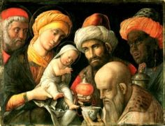 ANDREA MANTEGNA - L'Adorazione dei Magi -  1495-1505 - J. Paul Getty Museum, Los Angeles