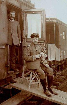 WWI German Train | . | Libby Hall | Flickr