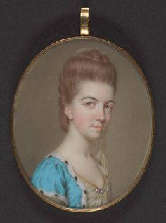 John Smart, 1741–1811, British, Portrait of a Lady, 1773, Gouache and watercolor on ivory, Yale Center for British Art, Paul Mellon Collection