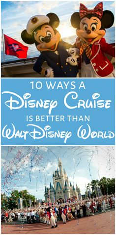 Trying to decide between a Disney Cruise vs Disney World vacation? This should help you decide which is better for you and your family.