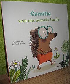 """1exemplaire de""""Camilleveut une nouvelle famille""""à gagner !  Le concours est ouvert du15marsau 10 avril(à 20H)."""