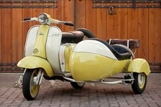 Lambertta TV175 with Side Car