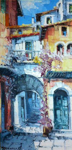 Antonio Di Viccaro Art For Sale - 25 Listings Selling Art Online, Online Art, Art Therapy, Art For Sale, Illustration Art, Artwork, Paintings, Arch, Work Of Art