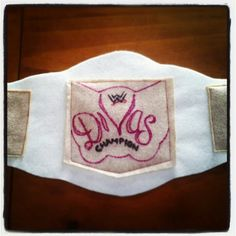 Wwe divas champion belt for the girls at gradys party