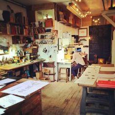 Oliver Jeffers Studio