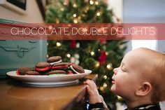 double chocolate delights // cookie recipe