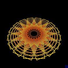 The New Big Poppa E art color abstract digital art #Optical #Illusions #ShermanFinancialGroup