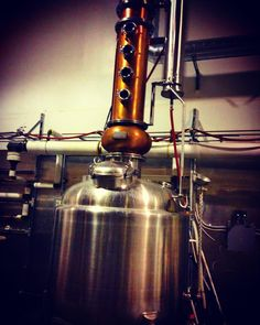 Still!!! Say hello to the magic of @3howlsdistillery @3howls #3howls learning so much #whiskey geekery