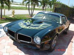 1973 Pontiac Firebird Trans Am (These were everywhere in the 70's and only the coolest guys drove em)