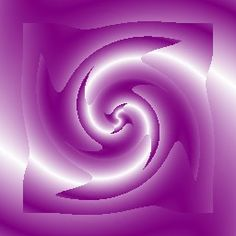 Purple and White Swirls