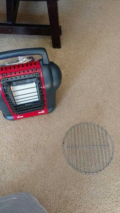 Post with 9 votes and 1206 views. Turn Buddy Heater into a Grill Ice Fishing Tip Ups, Fishing Tips, Hunting Stands, Muscle Power, The Hard Way, Deer Hunting, Shotgun, Blind, Prepping