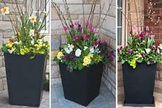Image result for spring planters