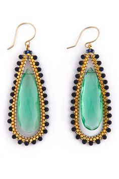 Rent Deep Sea Earrings by Miguel Ases for $35 only at Rent the Runway.