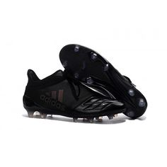 competitive price f7e38 8ca81 2016 Adidas X 16 Purechaos FG AG Chaussures de football Leather Noir Soldes