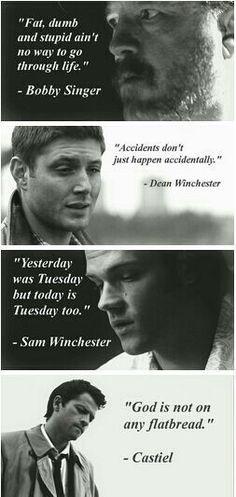 Supernatural quotes.