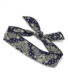 Look at this #zulilyfind! Navy Paisley Headband #zulilyfinds