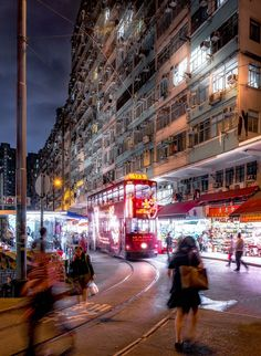"""""""Tram Market""""—North Point, Hong Kong. (Andy Yeung) An image from photographer Andy Yeung's """"Remember Hong Kong"""" series"""