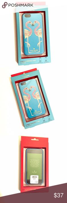 listing! Kate Spade Flamingo iPhone case Flamingo Bling! 2 piece hard shell case for the iPhone 6 and 6s. kate spade Accessories Phone Cases