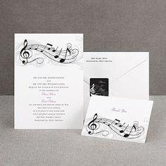 stephanie- music note invitations