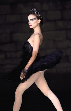 Natalie Portman as Black Swan...this bitche's body was BANGIN in this flick...BANG IN!