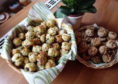 Medvehagymás pogácsa egyensúly-tésztából   Erika Guszmann receptje - Cookpad receptek Sprouts, Cauliflower, Muffin, Vegetables, Breakfast, Food, Morning Coffee, Cauliflowers, Essen