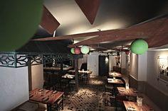 12-25 ('s) mat DARK / interior design / Retail design blog / Dissenyados Arquitectura / #project restaurant tapas bar OMBU Mallorca Spain