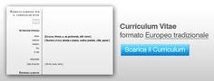 Curriculum vitae: Scaricare il file Word del Curriculum vitae Europeo