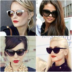 370c0e6dc272b Summer love  óculos gatinho