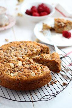 Bizcocho de peras y nueces Banana French Toast, Sponge Cake, Sweet Recipes, Banana Bread, Sweet Treats, Muffin, Cooking Recipes, Sweets, Cookies