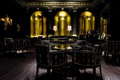 London - Savoy hotel reopens: The Beaufort Bar