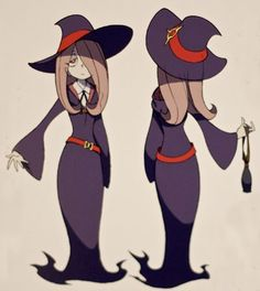 Little Witch Academia Cosplay -- Sucy Cosplay Costume Version 01