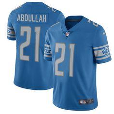 71507bfc4 Nike Lions  21 Ameer Abdullah Blue Team Color Men s Stitched NFL Vapor  Untouchable Limited Jersey