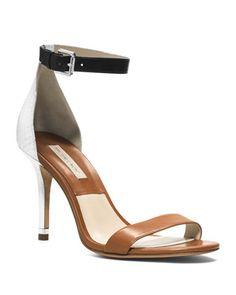b0faad54f037 Michael Kors Natasia Three-Tone Naked Sandal. Wish these weren t so  expensive