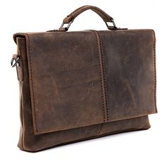 Free Shipping Men's Crazy Horse Leather Bag Cowhide by guatiantian, $146.99