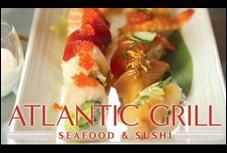 Atlantic Grill in Atlantic City = a seafood shack for the uptown set with excellent fish, killer raw bar, fresh sushi. #EatAC #ACRestaurantWeek