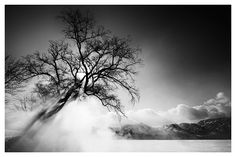 hot spring steam, lake kussharo